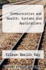 cover of Communication and Health: Systems and Applications