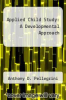 cover of Applied Child Study: A Developmental Approach (2nd edition)