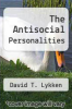 cover of The Antisocial Personalities