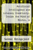 cover of Artificial Intelligence and Literary Creativity: Inside the Mind of Brutus, a Storytelling Machine