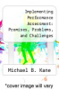 cover of Implementing Performance Assessment: Promises, Problems, and Challenges (1st edition)