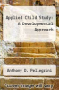 cover of Applied Child Study: A Developmental Approach (3rd edition)