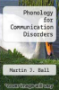 cover of Phonology for Communication Disorders (1st edition)