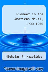 Cover of Pioneer in the American Novel, 1900-1950 EDITIONDESC (ISBN 978-0806107455)