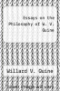 cover of Essays on the Philosophy of W. V. Quine
