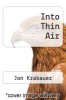 cover of Into Thin Air