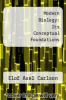 cover of Modern Biology: Its Conceptual Foundations