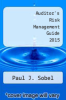cover of Auditor`s Risk Management Guide 2015