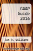cover of GAAP Guide 2016