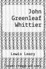 cover of John Greenleaf Whittier