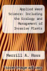 cover of Applied Weed Science: Including the Ecology and Management of Invasive Plants