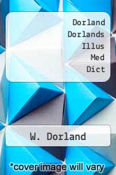 Dorland Dorlands Illus Med Dict by W. Dorland - ISBN 9780808921868