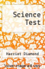 cover of Science Test