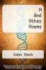 cover of M And Other Poems