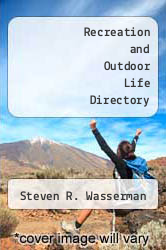 Cover of Recreation and Outdoor Life Directory 2 (ISBN 978-0810303164)