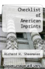 cover of Checklist of American Imprints