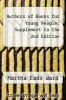 cover of Authors of Books for Young People: Supplement to the 2nd Edition (2nd edition)