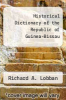 cover of Historical Dictionary of the Republic of Guinea-Bissau (2nd edition)