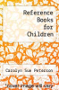 cover of Reference Books for Children (4th edition)