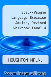 Cover of Steck-Vaughn Language Exercise Adults, Revised Workbook Level A 95 (ISBN 978-0811478755)