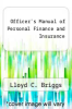 cover of Officer`s Manual of Personal Finance and Insurance (3rd edition)