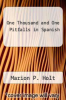 cover of One Thousand and One Pitfalls in Spanish