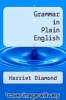 cover of Grammar in Plain English