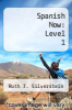 cover of Spanish Now: Level 1 (4th edition)