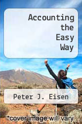 Cover of Accounting the Easy Way EDITIONDESC (ISBN 978-0812026238)