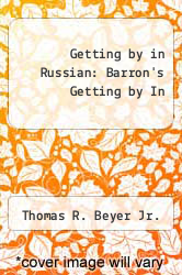 Cover of Getting by in Russian: Barron