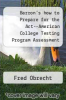 cover of Barron`s how to Prepare for the Act--American College Testing Program Assessment (7th edition)