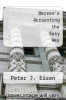 cover of Barron`s Accounting the Easy Way (2nd edition)