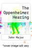cover of The Oppenheimer Hearing