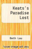 cover of Keats`s Paradise Lost (1st edition)
