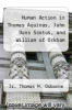 cover of Human Action in Thomas Aquinas, John Duns Scotus, and William of Ockham