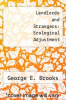 cover of Landlords and Strangers: Ecological Adjustment
