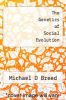 cover of The Genetics of Social Evolution