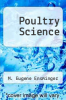 cover of Poultry Science (2nd edition)