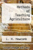 cover of Methods of Teaching Agriculture