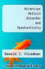 cover of Attention Deficit Disorder and Hyperactivity (2nd edition)