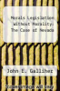 cover of Morals Legislation Without Morality: The Case of Nevada