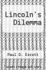 cover of Lincoln`s Dilemma