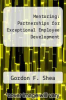 cover of Mentoring: Partnerships for Exceptional Employee Development (1st edition)