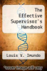 cover of The Effective Supervisor`s Handbook (2nd edition)