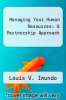 cover of Managing Your Human Resources: A Partnership Approach
