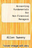 cover of Accounting Fundamentals for Non-Financial Managers