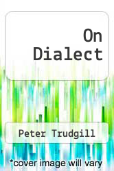 Cover of On Dialect EDITIONDESC (ISBN 978-0814781722)
