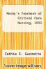 cover of Mosby`s Yearbook of Critical Care Nursing, 1993