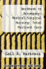 cover of Workbook to Accompany: Medical-Surgical Nursing: Total Paitient Care (9th edition)