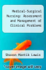 cover of Medical-Surgical Nursing: Assessment and Management of Clinical Problems (4th edition)